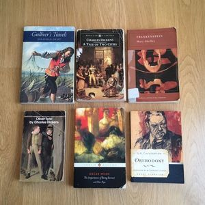 British Literature Book Set